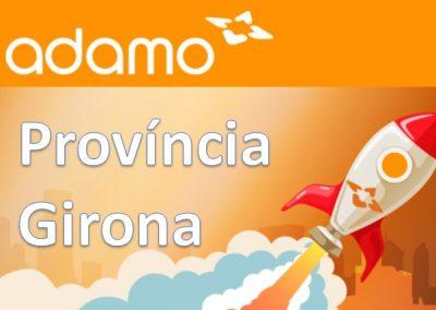Instal·lacions FTTH ADAMO Província de Girona