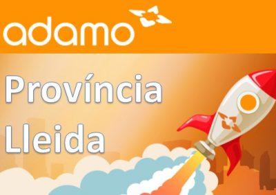 Instal·lacions FTTH ADAMO Província de Lleida