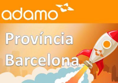 Instal·lacions FTTH ADAMO Província de Barcelona