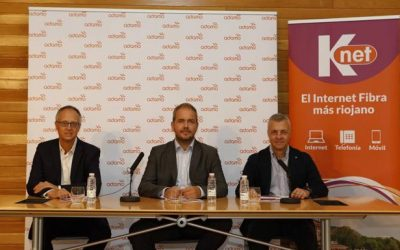 EinesaCable begins the deployment of Fiber Optics in La Rioja in the first phase of the joint project of Adamo and Knet