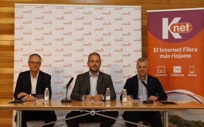 EinesaCable comença el desplegament de Fibra Òptica a la Rioja en la primera fase del projecte conjunt d'Adamo i Knet.